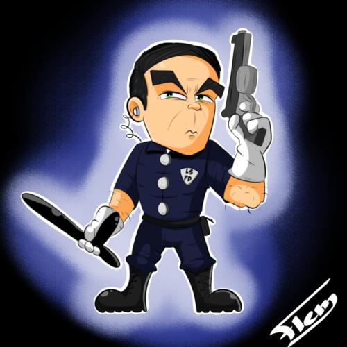 Policier Americain