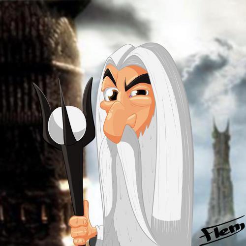 Saruman, le Seigneur des Anneaux